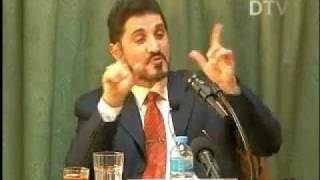حوار د.عدنان ابراهيم مع صحفي ملحد اصابه بالذهول !!