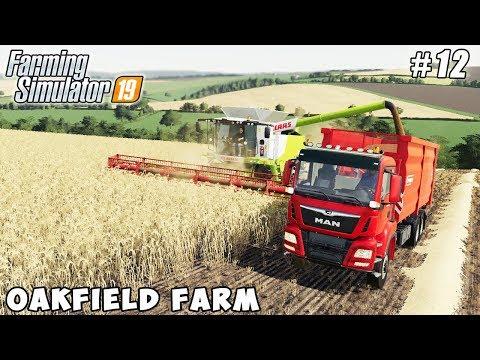 Repeat Harvesting grass for silage   Farming in Varvarovka   Farming