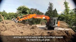 Hitachi ZX135US-3 Excavator, Raymond Michel SA, Switzerland