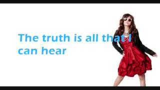 Demi Lovato - Everytime You Lie (Lyrics on Screen) HQ