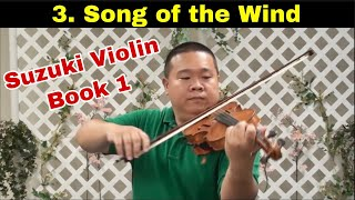 Suzuki Violin Book 1 - 03. Song of the Wind
