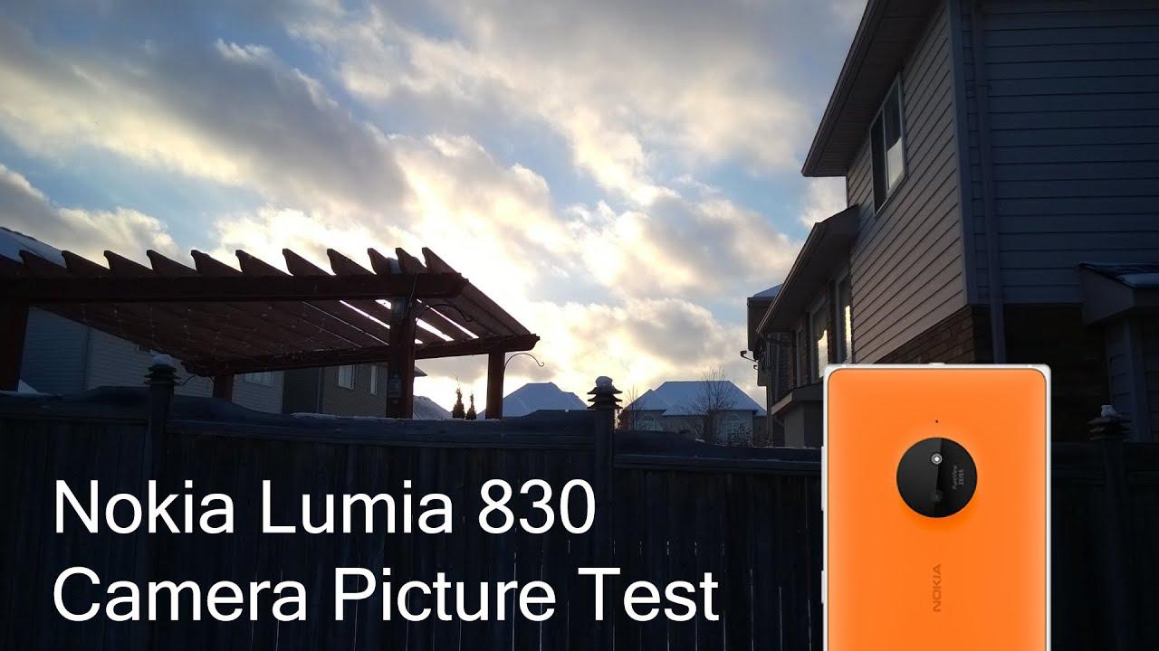 Nokia Lumia 830 Camera Picture Test (10 Megapixel Camera ...