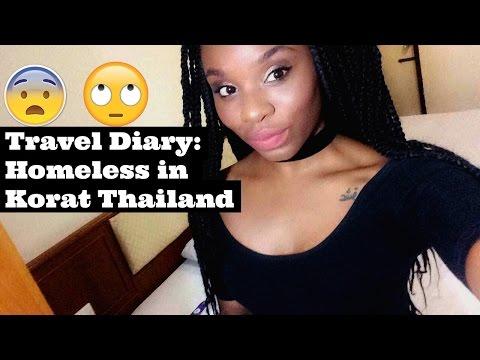 Travel Diary: Homeless in Korat Thailand