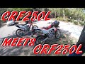 Meeting a CRF250L with FMF PowerCore 4 Slip-on Exhaust