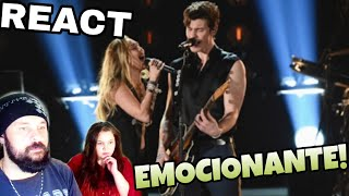 REAGINDO: MILEY CYRUS E SHAWN MENDES -  IN MY BLOOD (GRAMMY 2019 REACT)