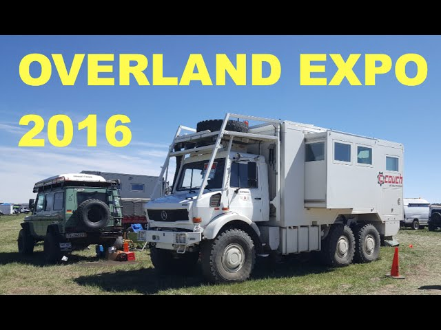 Overland Expo 2016 - sneak peek of the whole show