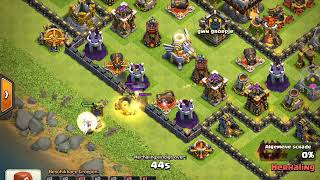Clash of Clans // TH11 Troll Base defence log