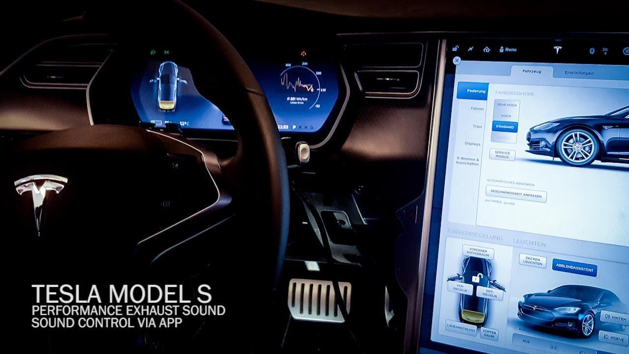 Tesla Model S Amazing Sound Tuning - Performance Exhaust Sound  Test Drive 