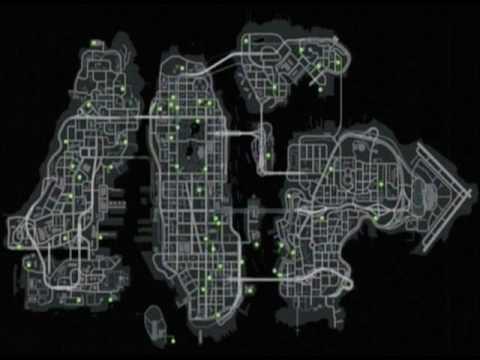 Gta 4 Gun Shop Locations GTA IV - Maps - YouTub...