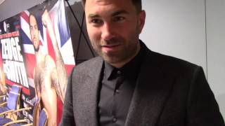 'HE JUST WASNT GOOD ENOUGH TO WIN A WORLD TITLE' -EDDIE HEARN REACTS TO PAUL SMITH DEFEAT TO ZEUGE