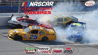 2015 NASCAR Xfinity Series Crashes (Texas- Iowa)