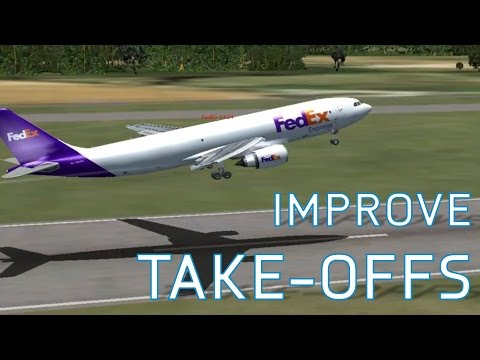 FSX How to Improve your Take-Offs