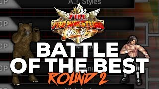 Fire Pro Wrestling World | WWE - NJPW - TNA WRESTLER TOURNAMENT ROUND 2