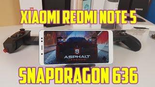 Xiaomi Redmi Note 5 Asphalt 9 Legends Gameplay/ Snapdragon 636 Gaming test/ High settings
