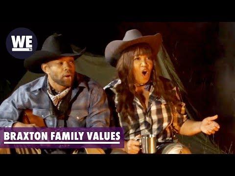 'Jamie Foxx Is Kym's Lone Ranger' Deleted Scene   Braxton Family Values   WE Tv