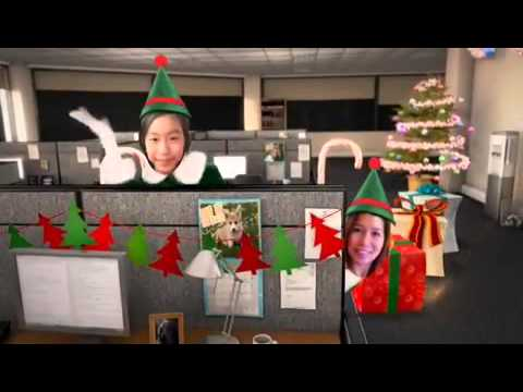 Family mendoza office elf dance