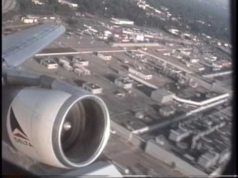 DELTA AIRLINES L-1011 Takeoff from Atlanta (1992)