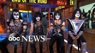 Legendary rock superstars Kiss surprise two super fans and the reactions are priceless!