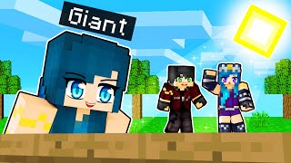 Minecraft but I'm a GIANT!