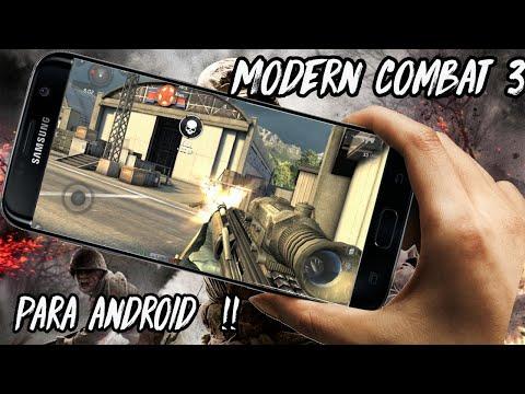 😱 Descargar Modern Combat 3 para android APK + DATOS ( 1 LINK Mega)