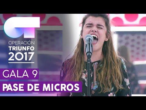 SHAKE IT OUT - Amaia | Primer pase de micros para la GALA 9 | OT 2017