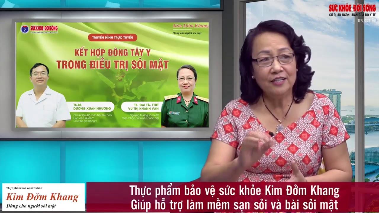 Điều trị Polyp Cholesterol túi mật trong Đông y thế nào? [TS. Vũ Thị Khánh Vân]