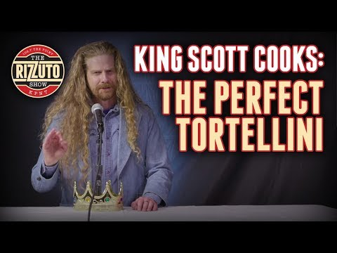 How to make the PERFECT Tortellini - King Scott Cooks [Rizzuto Show]