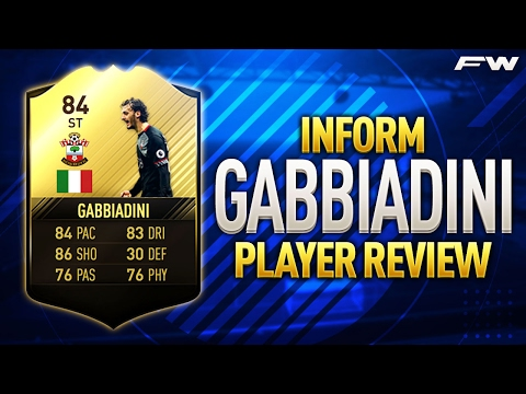 FIFA 17 IF GABBIADINI Review (84) w/ In Game Stats & Gameplay