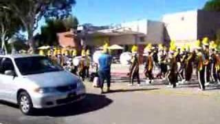 Cal Poly SLO Band before football game