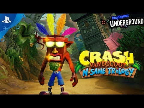 Crash Bandicoot N. Sane Trilogy Gameplay Demo | PS Underground