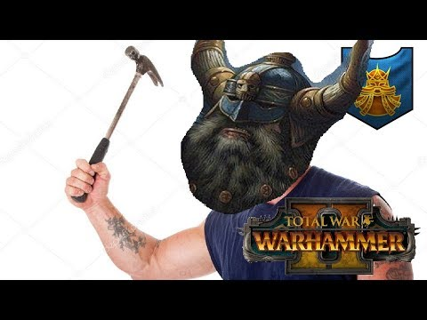 Dwarfs vs Dark Elves | STOP, HAMMER TIME - Total War Warhammer 2
