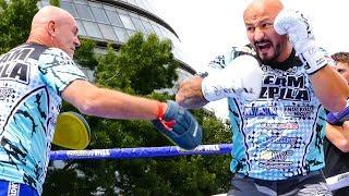 Artur Szpilka SOUTHPAW SLUGGER | Matchroom Boxing Public Workout