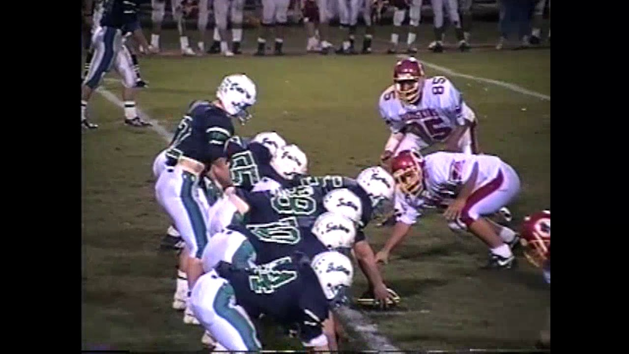 Seton Catholic - Saranac Lake Football  10-25-91