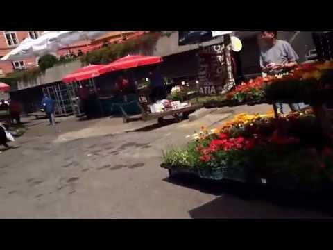 Dolac market Zagreb, con tanto di accento piemontese!