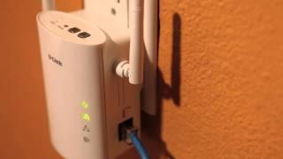 Al D En (DHP)güç Hattı AV Kablosuz N Extender-W306AV Linki