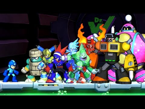 Mega Man 11 - Boss Rush (World Record + Gold Rank)