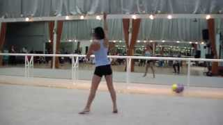 HDV 0341 Waltz,  little girls dance, girl with rope, Latin dance