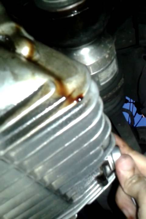 Install The Engine Oil And Filter For Kia Spectra Youtube