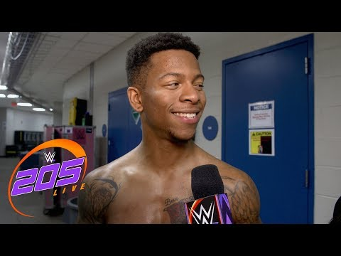Lio Rush revels in his victory against Akira Tozawa: 205 Live Exclusive, July 17, 2018