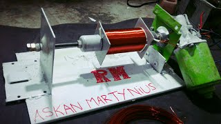 HOME MADE ROLLER MACHINE