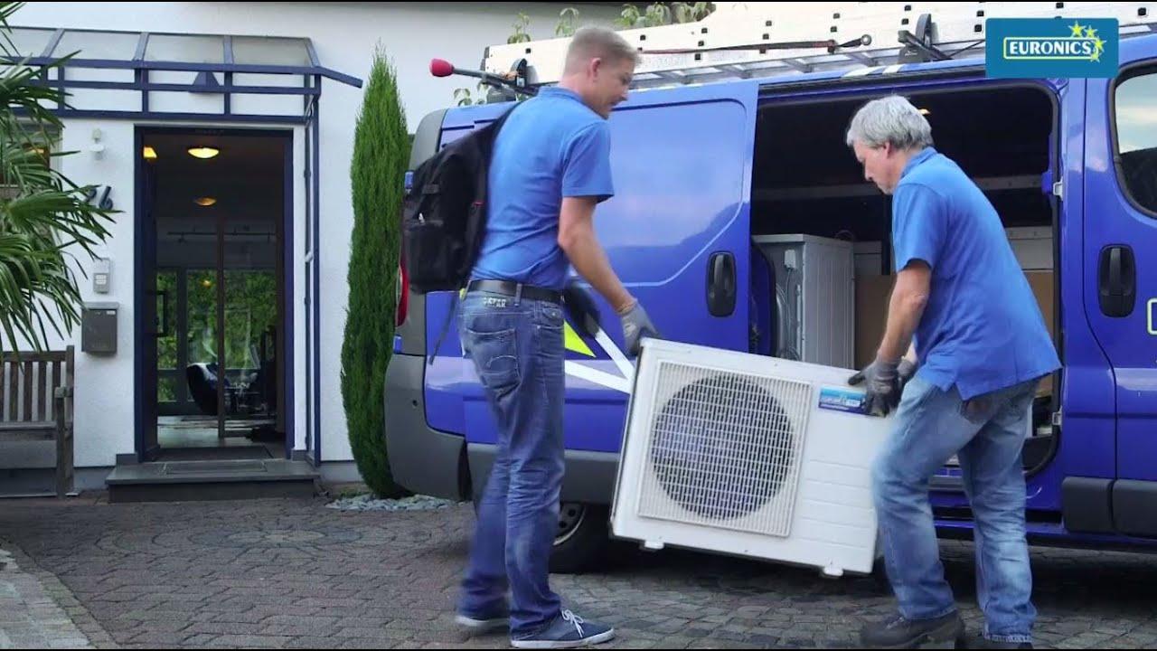 Installation klimaanlage youtube for Klimaanlage dachmontage