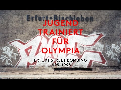 ERFURT GRAFFITI - Street Bombing 1998