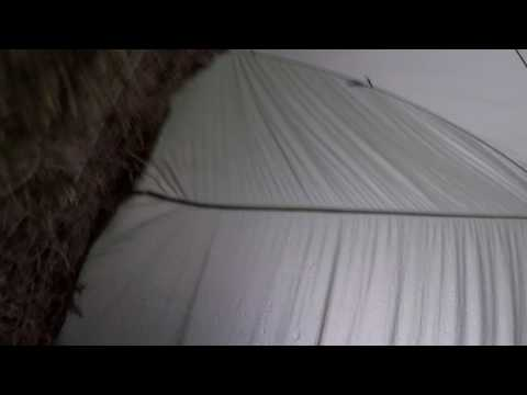 "Rain on a tent ""Sleep Sounds""  relaxing sounds of Mother Nature. 1 hour"