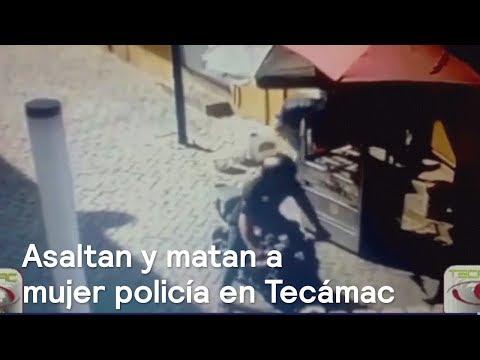 Ladrones asaltan y matan a una mujer policía en Tecamac, Edomex - Las Noticias con Danielle