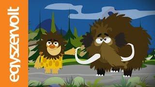 Iszkiri zenekar: Jön a mamut! (rajzfilm, gyerekdal, mese)
