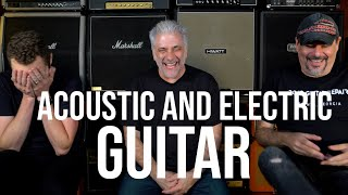 Why You Need To Learn Both Acoustic & Electric Guitar