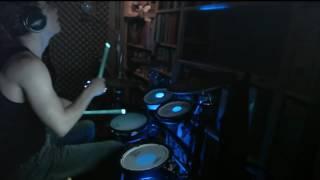 Pharrell Williams Runnin LED Drum Cover