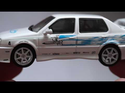 Fast And Furious GreenLight Collectibles Jesse's 1995 volkswagen Jetta A3