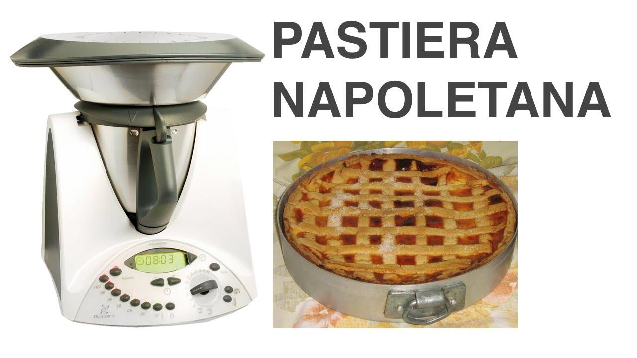 Pastiera Napoletana Ricetta Bimby Youtube