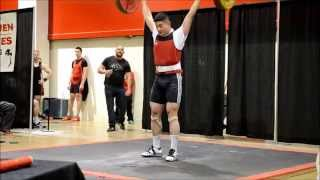2014 Ray Hamilton Classic - James Kim (m94kg) Weightlifting